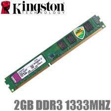 2 GB Kingston 1333 MHz