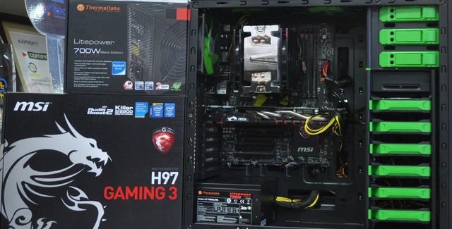 bộ cấu hình máy tính chơi game 40 triệu vnd